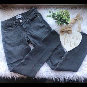 PAIGE Verdugo Ultra Skinny Gray Denim Jeans 26